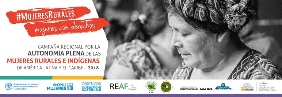 """Campaña """"Mujeres rurales, mujeres con derechos"""""""