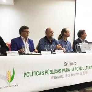 """Presentaciones del Seminario """"Políticas públicas para la agricultura familiar"""" (Montevideo, 18.12.2018)"""