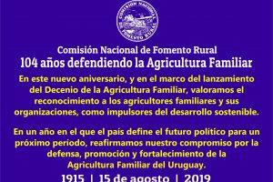 104 aniversario de CNFR