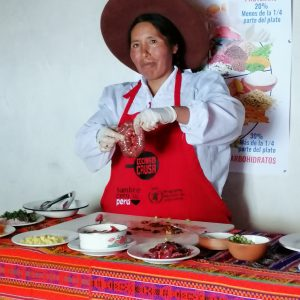Agricultura Familiar fuente de progreso: Isabel Huanca, ejemplo de mujer emprendedora