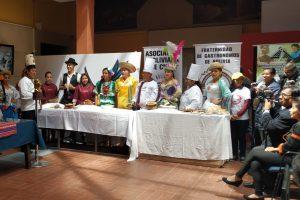 Frente parlamentario contra el hambre productores y chef realizaran Gastrotur