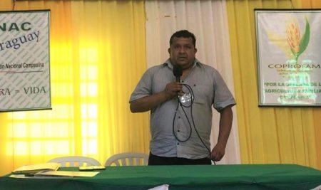 Gabino Medina participará en el lanzamiento regional del Decenio de la Agricultura Familiar en República Dominicana