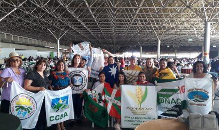 COPROFAM une fuerzas con las Margaridas de Brasil