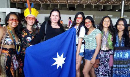 MUCECH participó en la sexta versión de la marcha de las Margaritas en Brasil