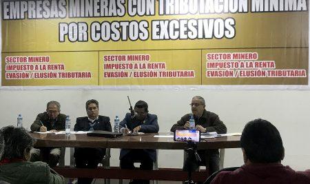 Minería evade pago de impuestos inflando costos y gastos
