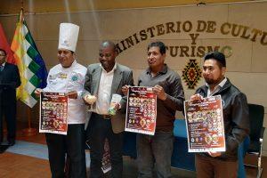 Lanzamiento del primer congreso internacional de gastronomía y turismo en Bolivia