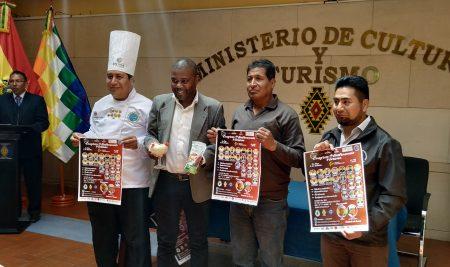 Lanzan el primer congreso internacional de gastronomía y turismo en Bolivia con la participación chefs de seis países