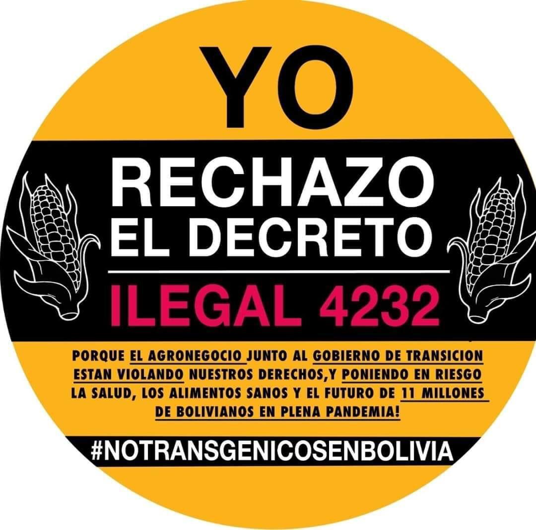 Rechazan ONG proyecto de decreto sobre glifosato y transgénicos